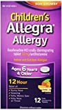 Health & Personal Care : Allegra Childrens 12 Hour Allergy Relief, Orange Cream Flavored, 12 Tablets