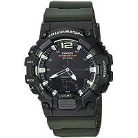 Casio Men's 'Classic' Quartz Resin Casual Watch, Color:Green (Model: HDC-700-3AVCF)