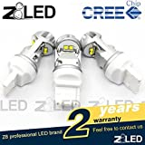 Z8 2pcs Nordic Light T20 7440 W21w Auto LED Bulb 20w Cool Hypothermia 6000k 320° Aluminum Cree Chip Brand New Signal Tail Back-up Light,brake Light Car Light Z8led White