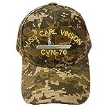 USS CARL VINSON CVN-70 Digital Camo Camouflage Military Baseball Cap Hat