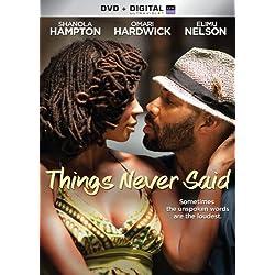 Things Never Said [DVD + Digital]