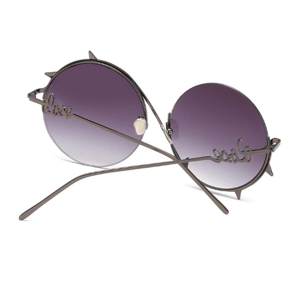 Gafas de Sol de Metal de conducción Gafas Redondas Gafas de ...