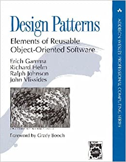 Design Patterns Elements Of Reusable Object Oriented Software With Applying Uml And Patterns An Introduction To Object Oriented Analysis And Design And The Unified Process Gamma Larman 9780582844421 Amazon Com Books