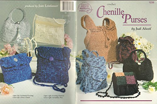 Crochet Chenille Purses (0881957658 20376131) photo
