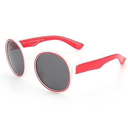 Aclth Niños Personalidad niños Gafas de Sol polarizadas Suave y cómodo  Protección UV400 Lentes Reflectantes para 4cd0c97bac
