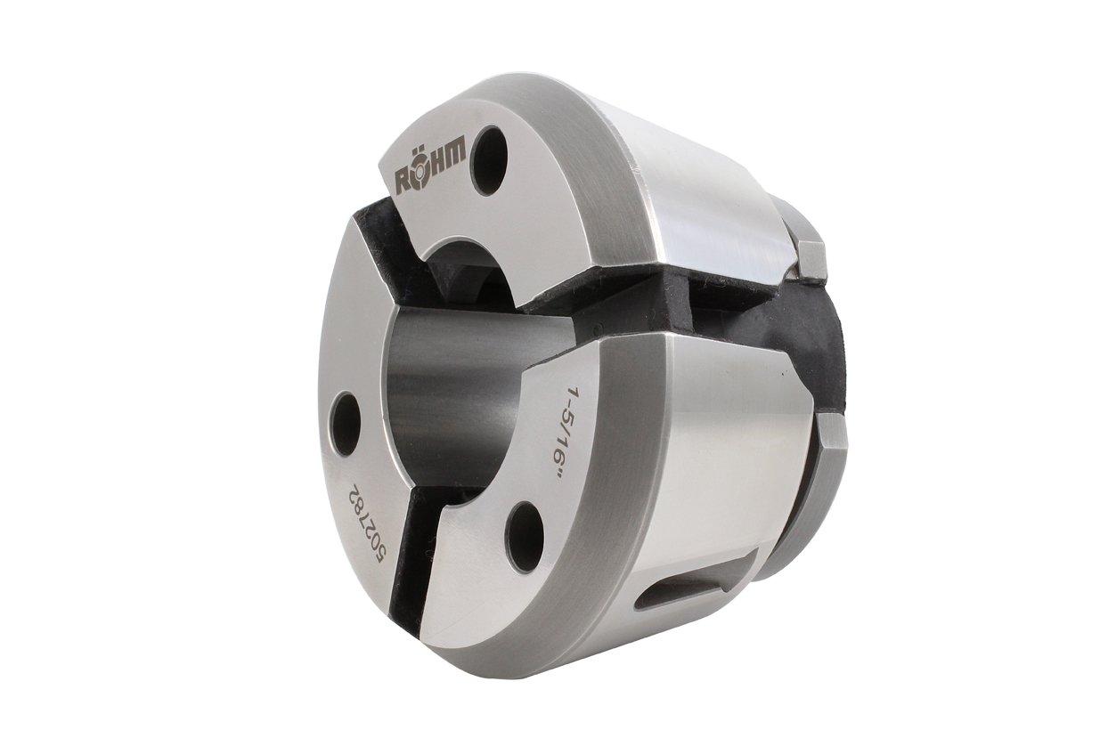 Röhm 502787 Top Grip BZI Clamping Head Collet GTG42-Round, Smooth-D1-5/8, 47 mm long by Röhm