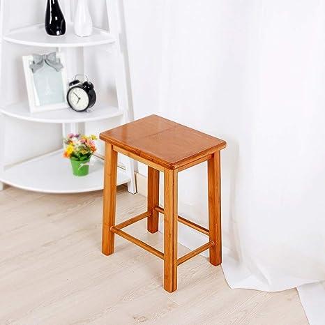 Tavoli E Panche Per Bar.Cwj Creative Shoes Sgabello Sgabello Bambu Tavolo Quadrato Antico