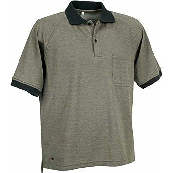 Cofra V083 - 0 de 03.z/6 Trabajo Polo camisa Martinica, barro gris ...