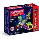 Magformers Space WOW Alien (22 Piece) Magnetic    Building      Blocks, Educational  Magnetic    Tiles Kit , Magnetic    Construction  STEM spaceToy Set