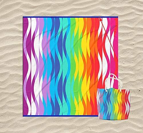 KN Toalla Playa Gigante para Mujer en Diseño de Impresos con ...