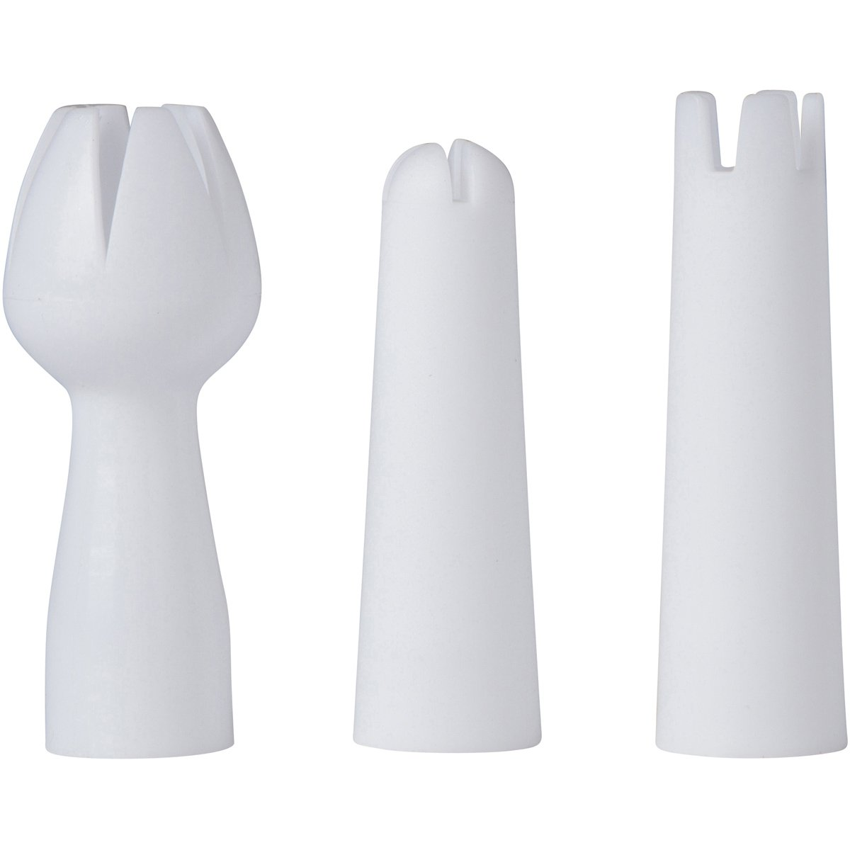 Whipped Cream Dispenser Replacement Decorating Tips - White Plastic Zcutt Home Goods