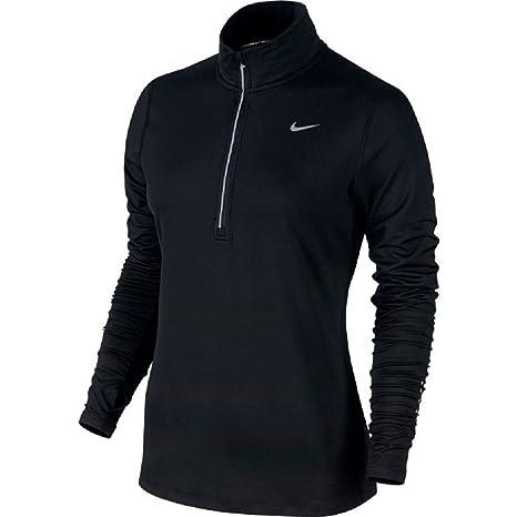 a3b739029213 Nike Women s Element 1 2 Zip Long Sleeve Top  Amazon.co.uk  Sports ...