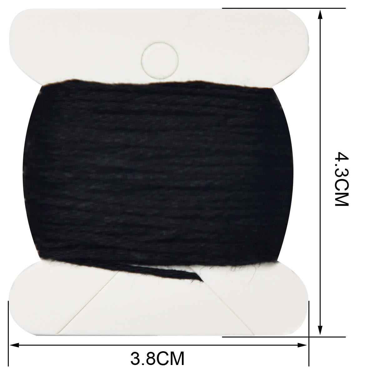 Premium Orange Series Embroidery Floss-Cross Stitch Threads-Friendship Bracelets Floss-Crafts Floss-Hand Embroidery Thread 24 Skeins Per Pack and Free Set of 3Embroidery Needles and 2 Needle Threader