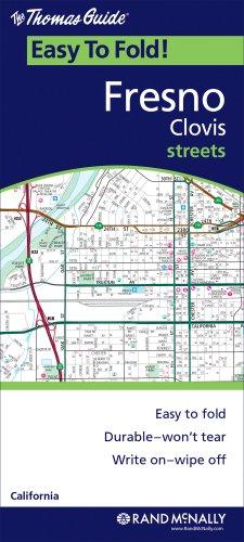 The Thomas Guide: Fresno, Claifornia Clovis Streets 2009 (Easy to Fold!)