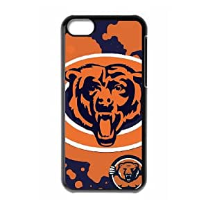 Chicago Bears Team Logo iPhone 5c Cell Phone Case Black 218y3-174365