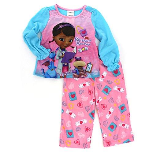 McStuffins Girls Sleeve Pajamas Toddler