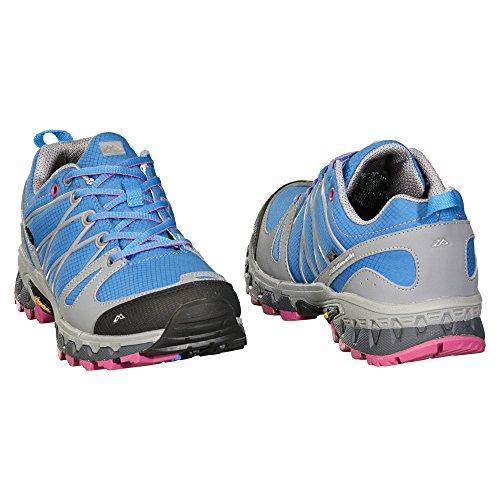 Kathmandu Fletcher NGX Zapatillas de senderismo para mujer �?UK4 Malibu Blue/Raspberry