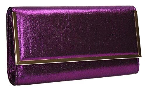 SwankySwans, Poschette giorno donna Taglia unica Purple