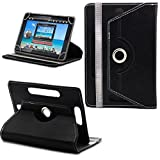 Generic 360Â Rotating 7'Inch Tablet Leather Flip Case Cover Book Cover With Stand For Amazon Kindle Fire HD (2013),Black