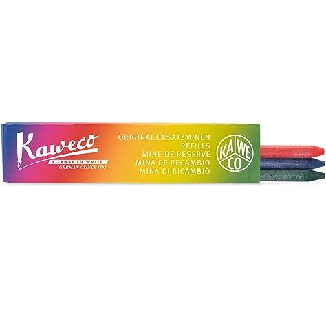 5,6 mm, 3 unidades Minas de l/ápiz Kaweco color rojo