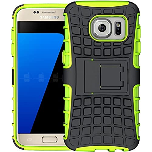 S7 Case, ACME.BOX [Heavy Duty] Armor Defender Tough Rugged Dual Layer Protective Case with Kickstand for Samsung Galaxy S7 with Stylus - Green Sales