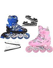 Nils Extreme Inlineskates rolschaatsen kinderen verstelbaar # 2-in-1 inline skates