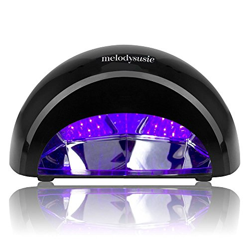 MelodySusie 12W LED Nail Dryer - Nail Lamp Curing LED Gel Na