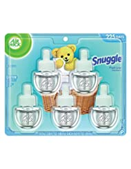 Air Wick Scented Oil 5 Refills, Snuggle Fresh Linen, (5X0.67o...