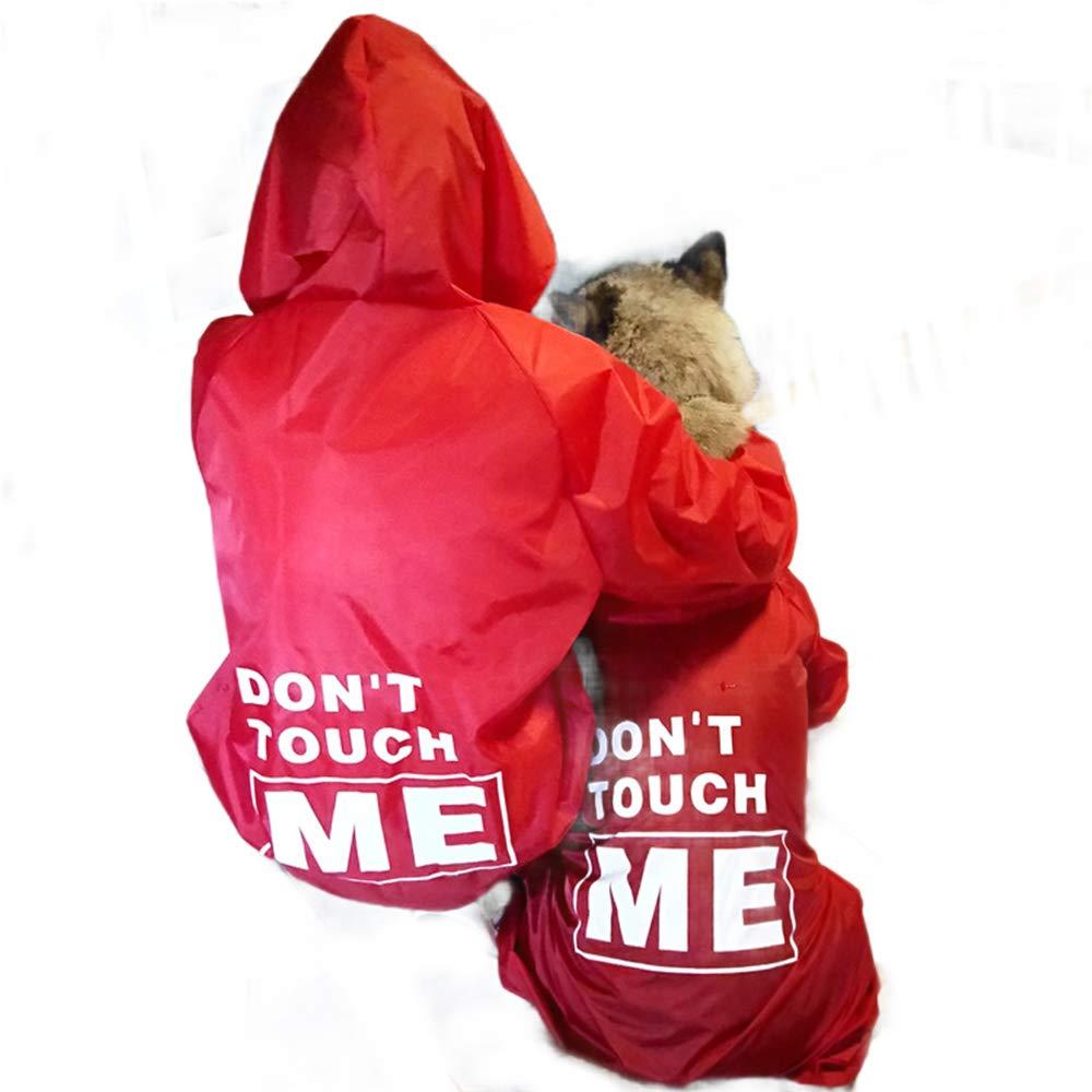 9XL Dog Raincoats Waterproof, Adjustable Waterproof Pet Dog Raincoat, Rain Jacket with Hood Collar Hole, Lightweight Packable Outdoor Dog Hooded Raincoat, Extra Small to Extra Large,9XL