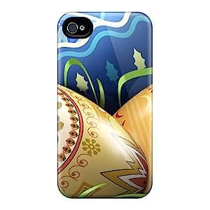 Tpu Garshop Shockproof Scratcheproof Easter Egg Pictures Hard Case Cover For Iphone 4/4s
