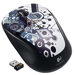 Logitech M325 Wireless Mouse with Designed-For-Web Scrolling - Fusion Party by Logitech