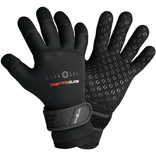 Scuba Dive Gloves - Aqua Lung Deep See 3mm Men's Thermocline Dive Gloves (Large)