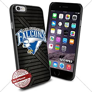 "NCAA-Air Force Falcons,iPhone 6 4.7"" Case Cover Protector for iPhone 6 TPU Rubber Case Black"