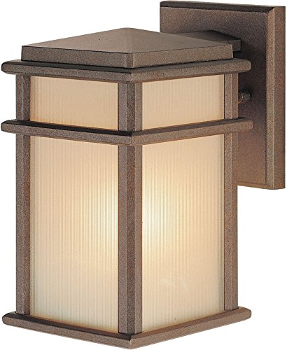 Mission Patio - Feiss OL3400CB Mission Lodge Outdoor Patio Lighting Wall Lantern, Bronze, 1-Light (5