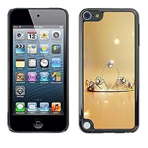 TopCaseStore / la caja del caucho duro de la cubierta de protección de la piel - Nature Princess - Apple iPod Touch 5