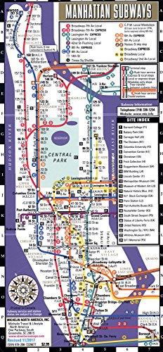 Streetwise Manhattan Bus Subway Map - Laminated Subway & Bus Map of Manhattan, New York (Michelin Streetwise - York New Manhattan Map Subway