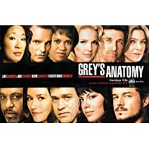Grey's Anatomy Faces TV Poster by Pop Culture Graphics