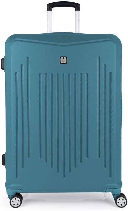 Gabol - Clever   Maletas de Viaje Grandes Rigidas de 53 x 76 x 30 cm con Capacidad para 100 L de Color Turquesa