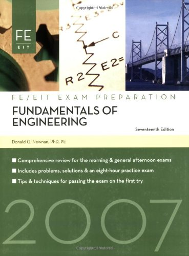 Fundamentals of Engineering: FE Exam Preparation