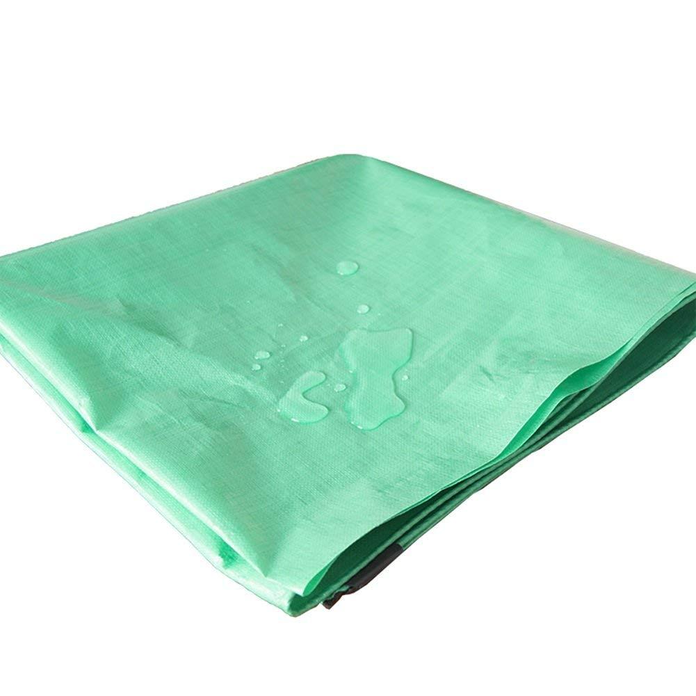 YINUO Regendichte Plane Farbe Streifen Tuch Wasserdicht Sonnenschutz Öl Tuch Outdoor Sonnenschutz Isolierung Sonnenschutz Plane Dicker Kunststoff Leinwand (Größe   8X10m)