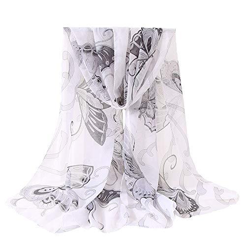 Donna lana Stampata Sciarpa White Angelof Sciarpe Sciarpa in Chales seta Slim Vogue Summer Lunghe invernale I5YaXqqwx