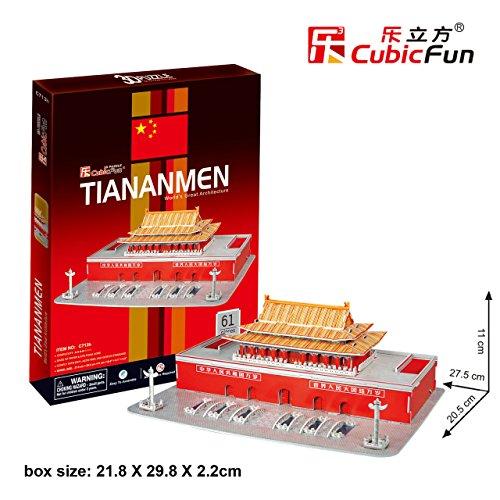 Cubic Fun C713H Tien An Men 3D Puzzle-Great Architecture
