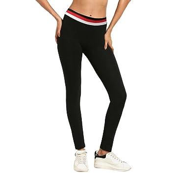 ELECTRI Femmes Taille Haute Sport Leggings Yoga Pantalon Gym Running  Fitness Pantalon D entraînement Stretch 30cbcd75cb0