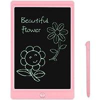 JOEAIS Tablette d'écriture LCD 8.5 Pouces d'écriture électronique Planche à Dessin numérique Tablette Graphique de Dessin Convenant aux Enfants, à la Maison, à l'école et au Bureau (Rose)