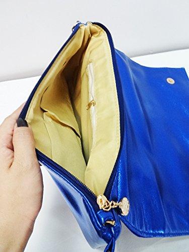 Zarapack - Borsa a tracolla donna (blu)