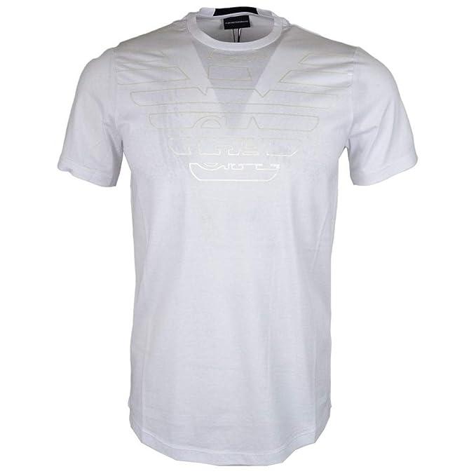 Amazon.com: Emporio Armani - Camiseta de algodón, cuello ...