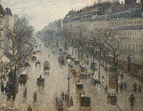- Camille Pissarro The Boulevard Montmartre on a Winter Morning Metropolitan Museum of Art, New York 30