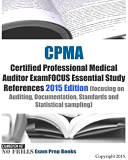 Medical record auditor 9781603592949 medicine health science cpma certified professional medical auditor examfocus essential study references 2015 edition focusing on auditing fandeluxe Images