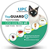 UPL Flea and Tick Prevention for Cats, Flea and Tick collar for Cats, One Size Fits All, 13 inch, 8 MONTH PROTECTION, Charity