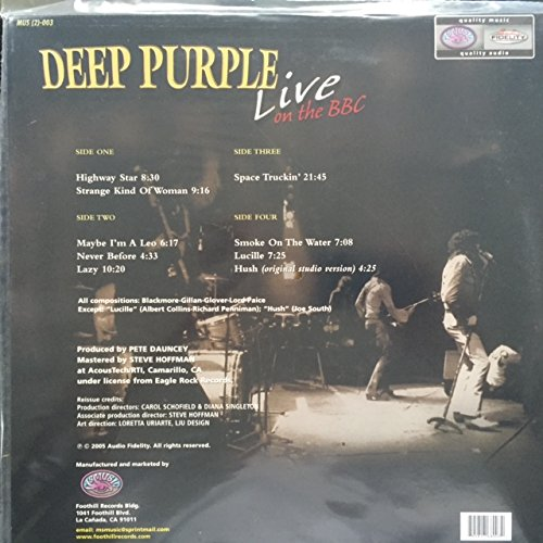 Deep Purple Live on the BBC